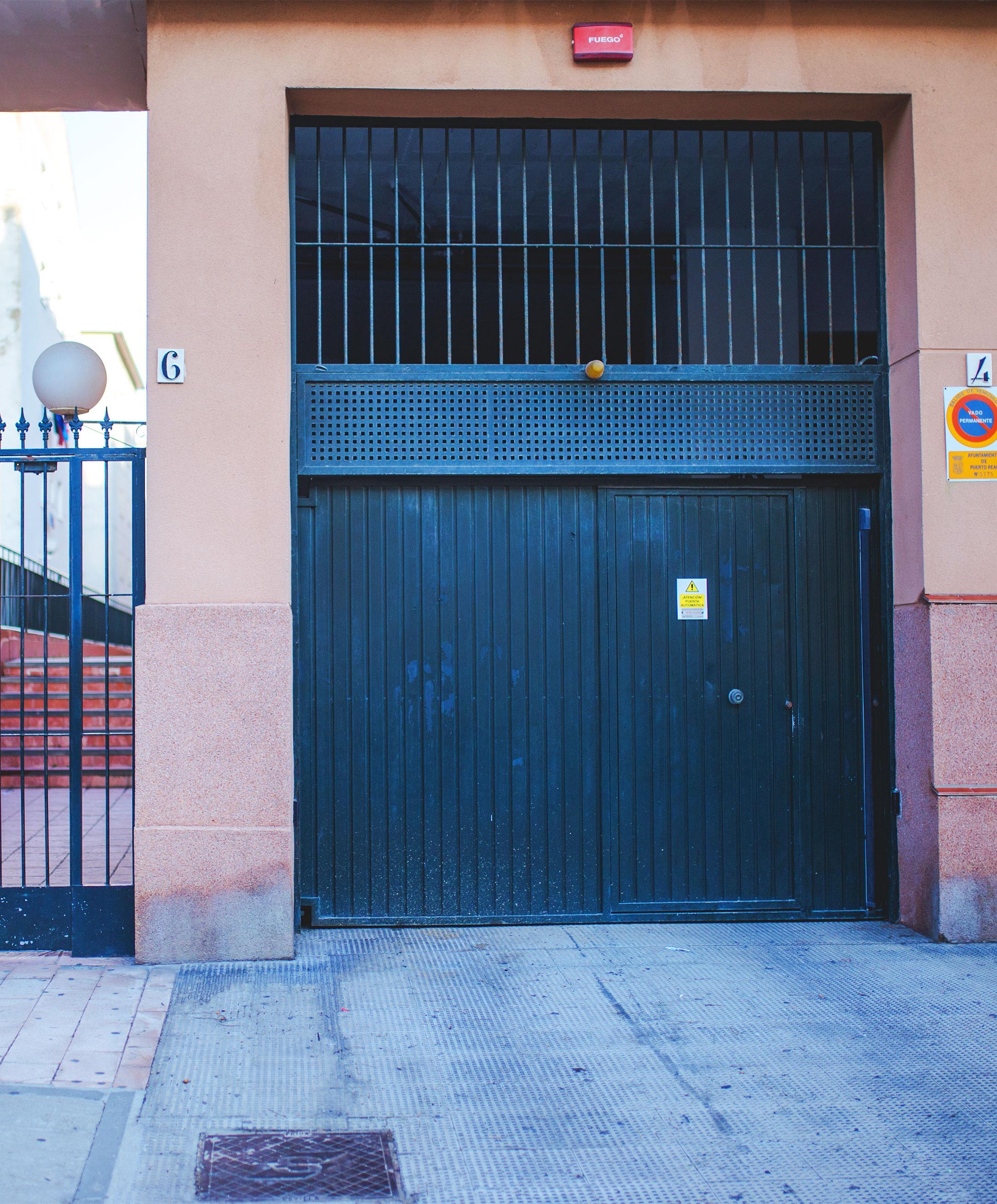 garaje en el Rio San Pedro